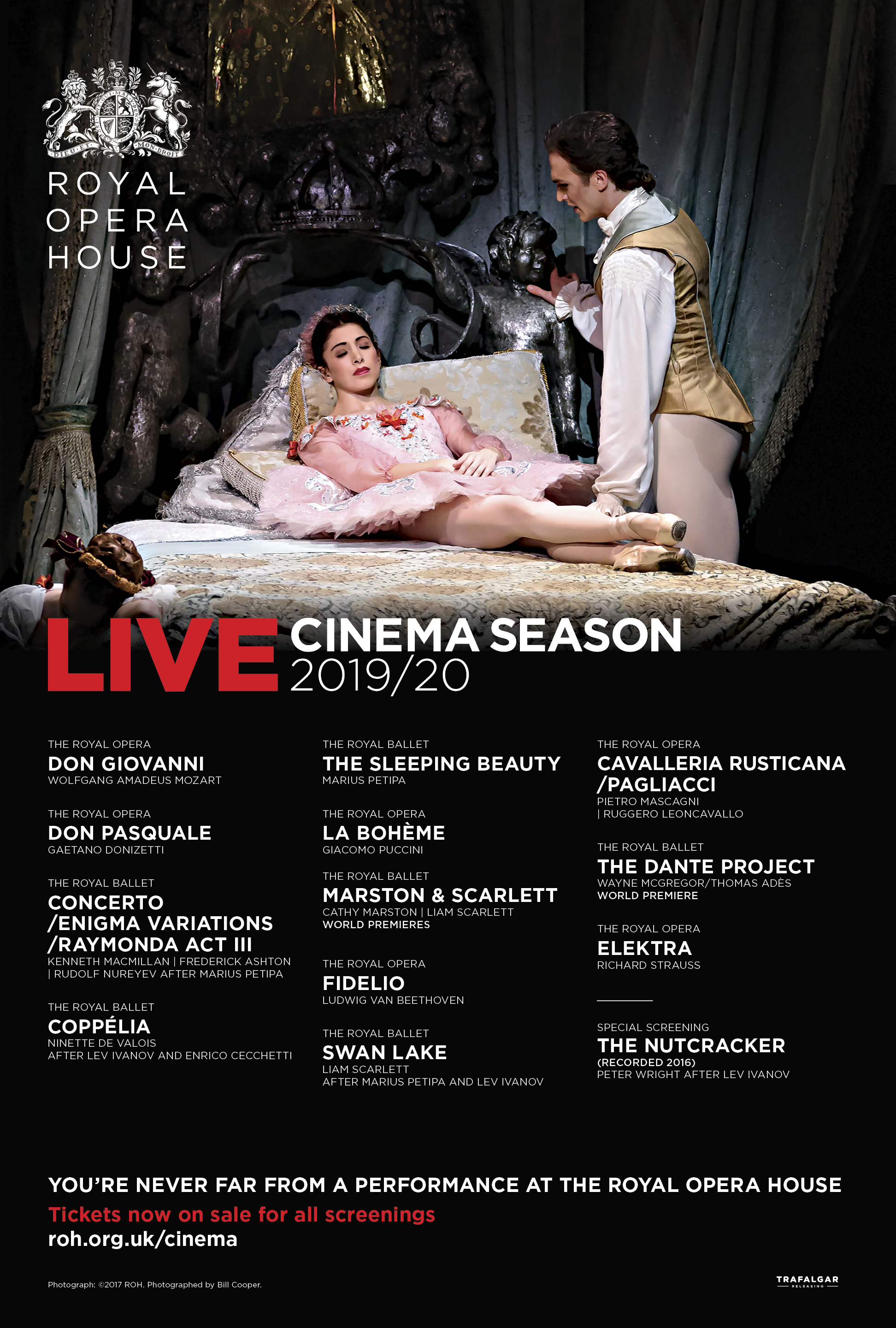 The Royal Opera House Ballet: Coppélia Poster